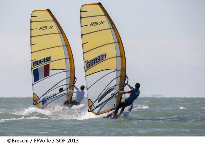 D�but du Championnat de France Elite de Voile Olympique � Marseille