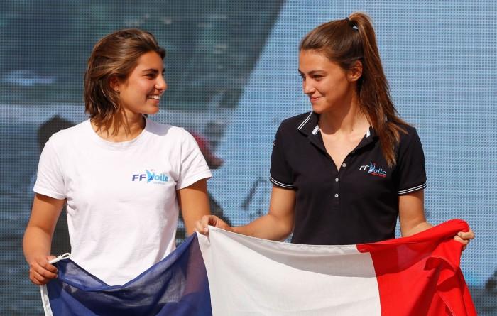 Marina Lefort & Lara Granier vice-Championnes du monde jeunes de 470 !