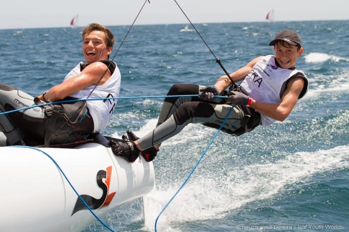 Championnats de Monde SL16 et RSX Jeunes pour les Bleuets
