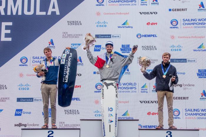 Aarhus 2018 3 médailles pour le Kiteboard França