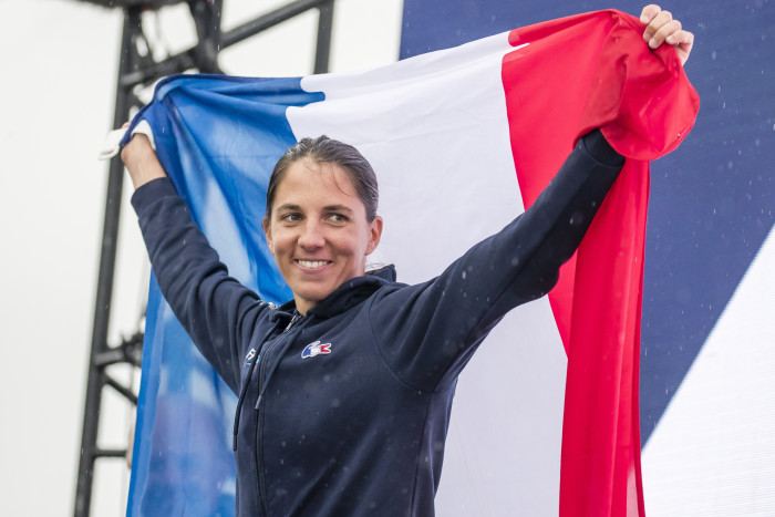 Charline Picon Vice-Championne du Monde RS:X