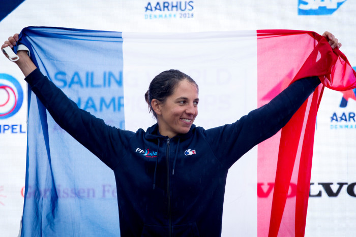 Equipe de France 2021 - Charline Picon - RS:X