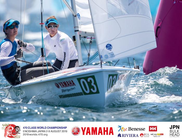 Championnat du Monde 470 2019 Enoshima