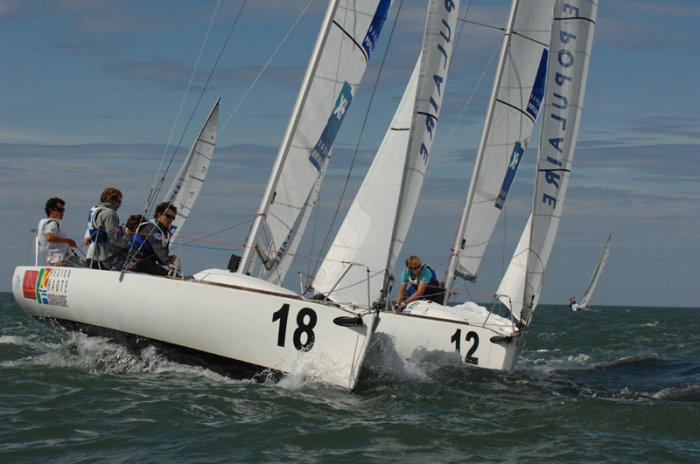Un avant-go�t des s�lectionn�s du  Championnat de France Promotion Match Racing Open