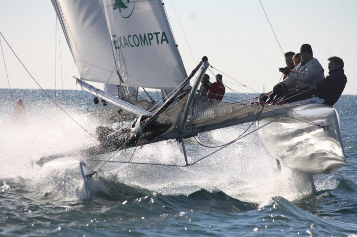 1er stage Match Racing - Catamaran