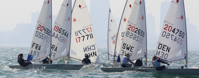 2013 Mondial Laser Radial Rizhao Chine
