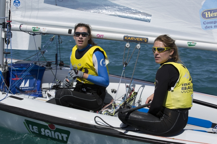 J-1 AVANT LE DEBUT DES REGATES DE LA SAILING WORLD CUP DE HYERES