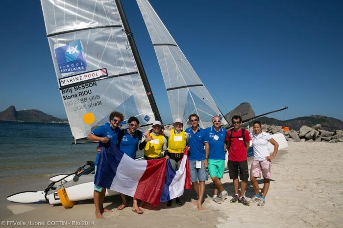 BILAN POSITIF POUR LES FRAN�AIS � RIO : 2 EN OR, 2 EN ARGENT !