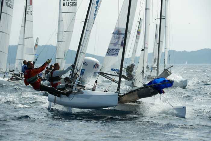 ISAF Sailing World Cup : place aux finales !