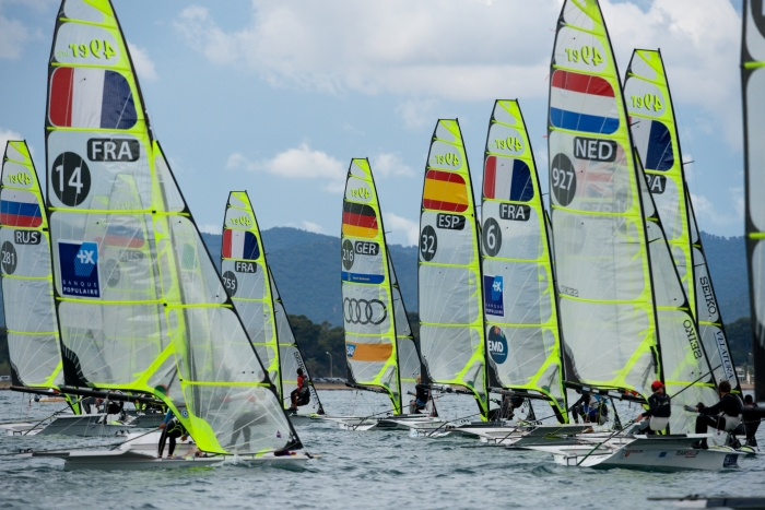 ISAF Sailing World Cup, � Hy�res, c