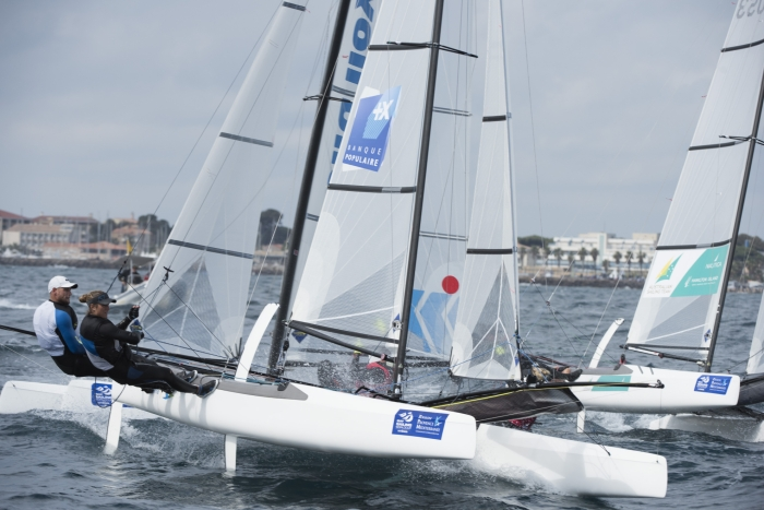 Top d�part du Championnat d�Europe de Nacra 17 � Barcelone !