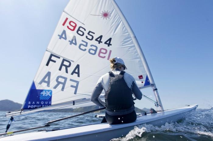 Jean-Baptiste Bernaz en Laser Standard et Mathilde De Kerangat en Laser Radial s�lectionn�s pour les Jeux Olympiques de RIO 2016