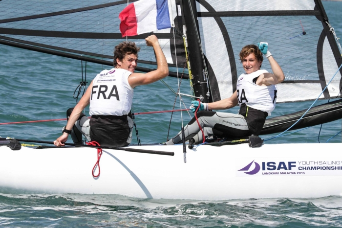 Mondial ISAF Jeunes 2015