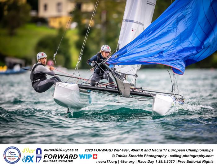 Championnat d'Europe Nacra 17 2020 - Autriche