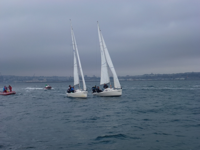 Championnat de France Espoirs Match Racing 2014