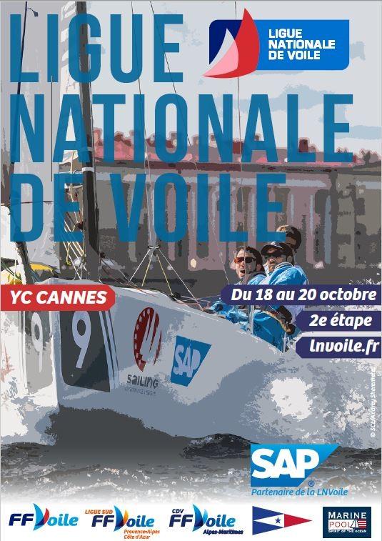 LNVoile 2019 - Etape 2 à Cannes