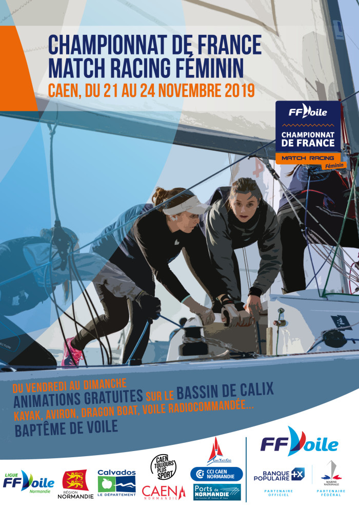 Championnat de France Match-Racing Féminin 2019