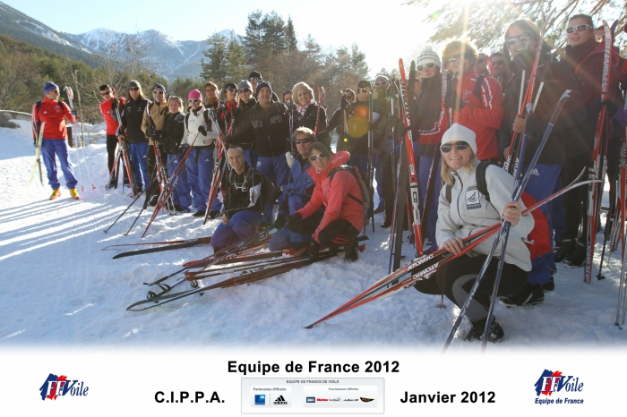 Stage Equipe Briançon Janvier 2012