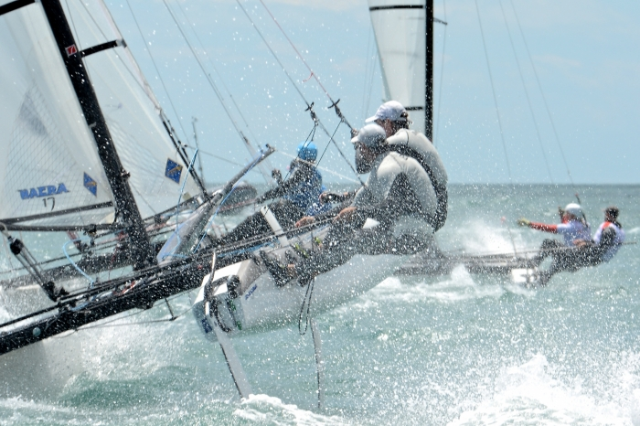Billy Besson et Marie Riou, Champions de France Elite Nacra 17