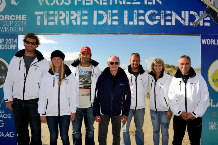 Etape de Coupe du Monde de Funboard : pas de slalom � La Torche !