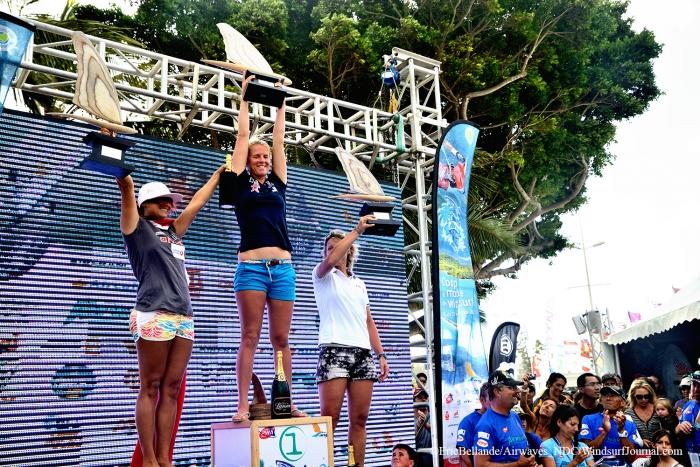 Coupe du Monde de Funboard : Delphine Cousin et Antoine Albeau Champions du Monde !