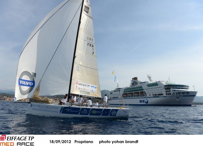 Eiffage TP Med Race - J3