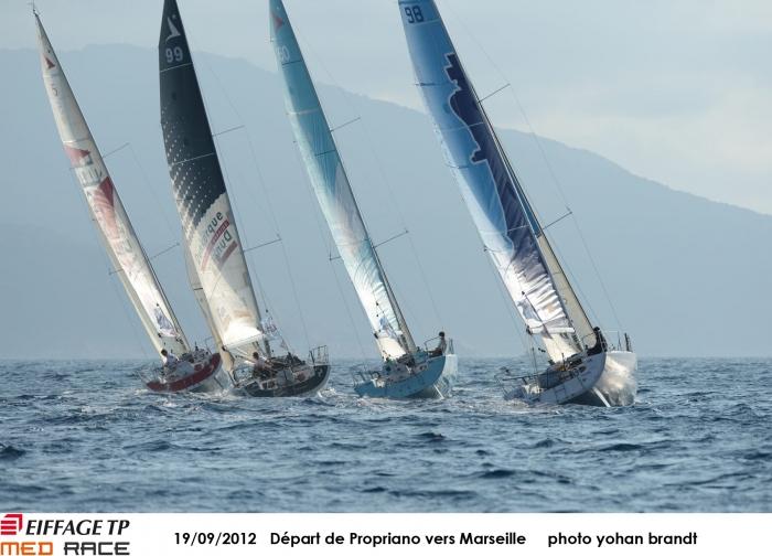 Eiffage TP Med Race - J4