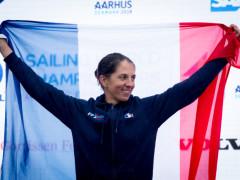 Equipe de France 2021 - Charline Picon - RS:X