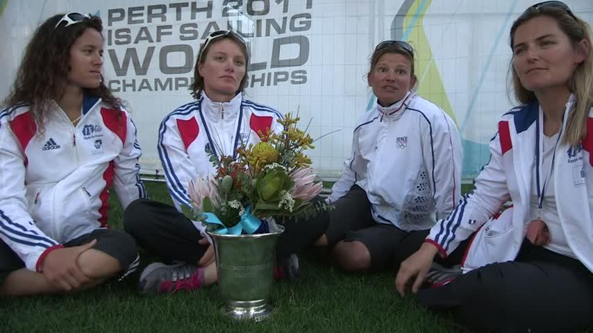 2011perth matchrace leroy podium itw