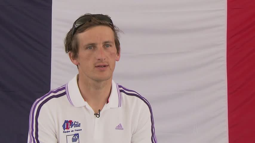 SOF2012 ITW Julien Bontemps (RS:X)