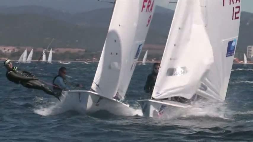 SOF2012 470 Women - FRA9 - Lecointre et Geron