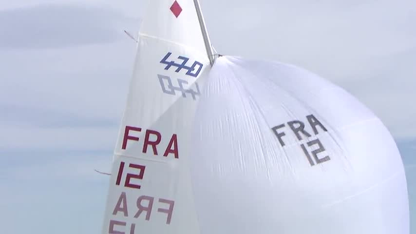470 Women - FRA 12 Rol De France - Day 4