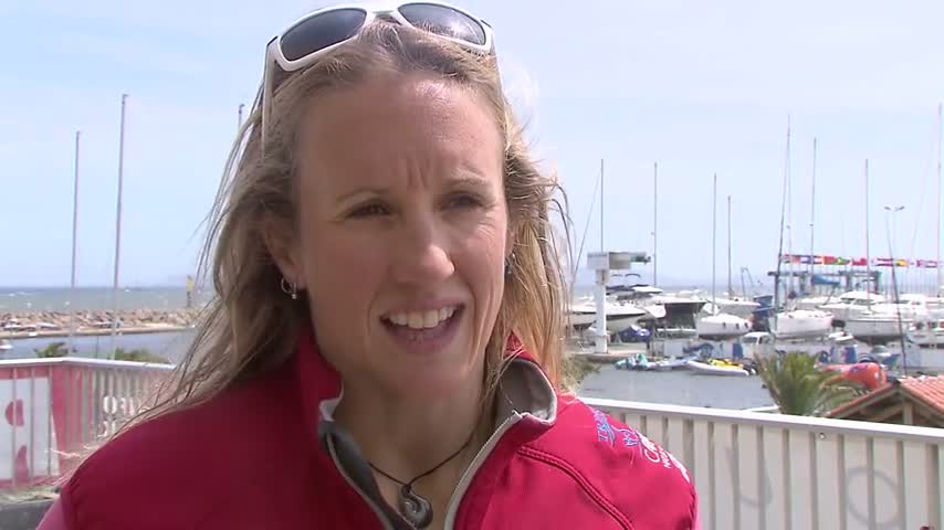 ITW Anna Tunnicliff - USA - Match Racing - Day 5
