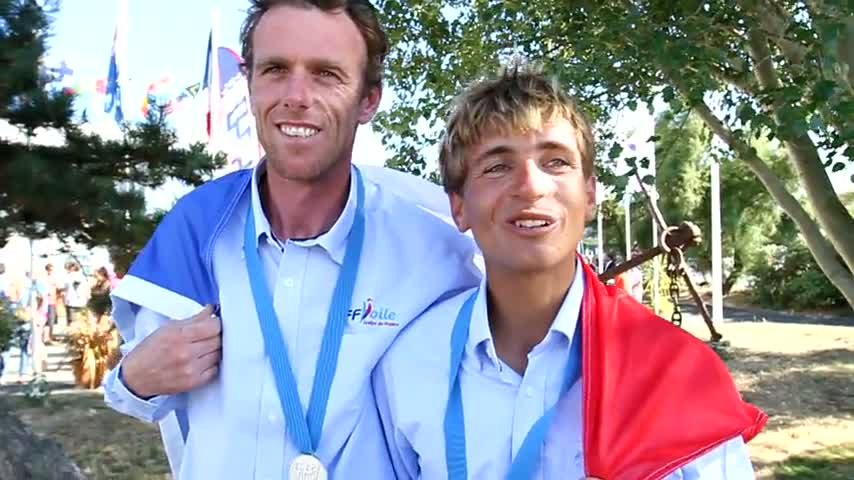 LEBOUCHER LEBERRE Vice Champion du Monde 2013