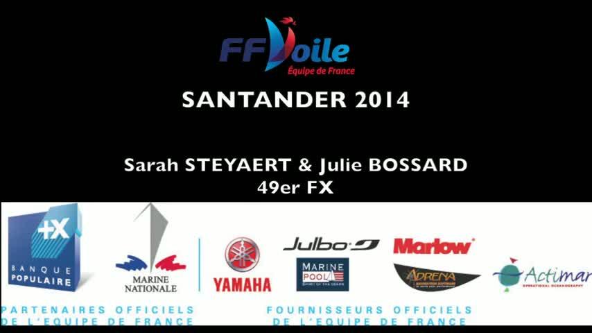 2014 Isaf World Santander 49erFX Steyaert Bossard