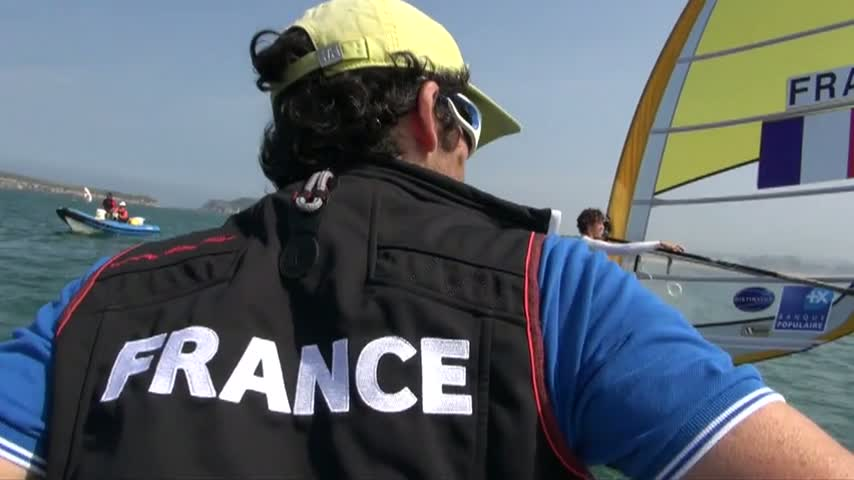 2014 ISAF WORLD Santander_RSX Training Race