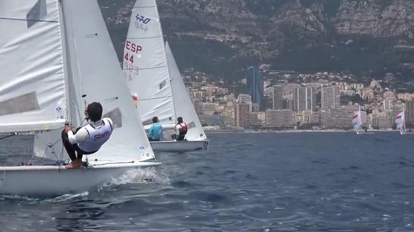 2017 Championnats d'Europe 470 - VNR 470 - Pirouelle / Mion