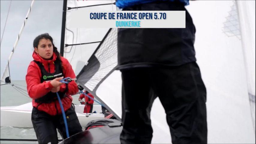 700 jeunes marins sur l'eau pour les Championnats de France Minimes et Espoirs de l'Automne !