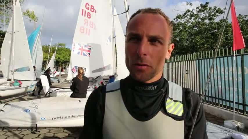 Rio TestEvent2014 Charbonnier Nebout 470 Homme