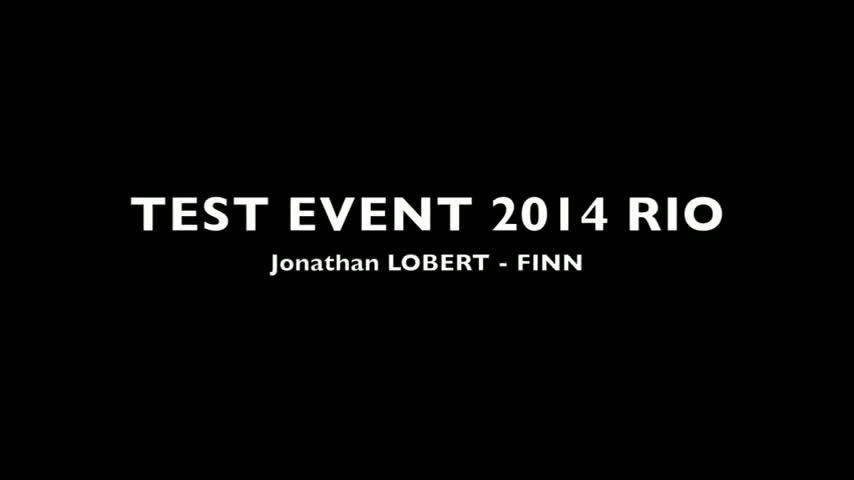 Rio TestEvent2014 Jonathan LOBERT FINN