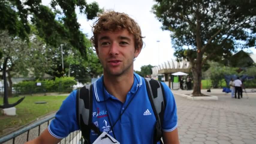 Rio TestEvent2014 Pierre LECOQ RSX Homme Jour3