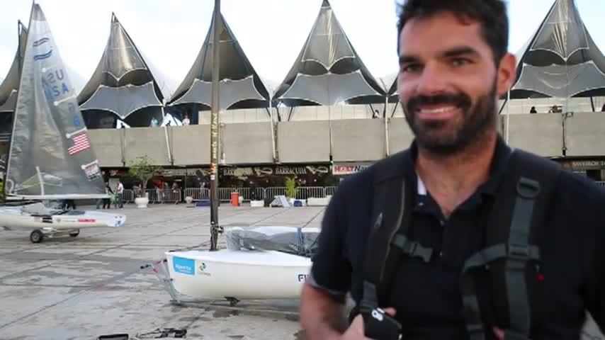 Rio TestEvent2014 Thomas LEBRETON FINN