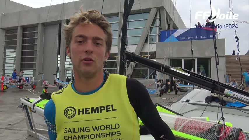 """Aarhus - Emile Amoros """"Notre cohésion avec Lucas"""""""