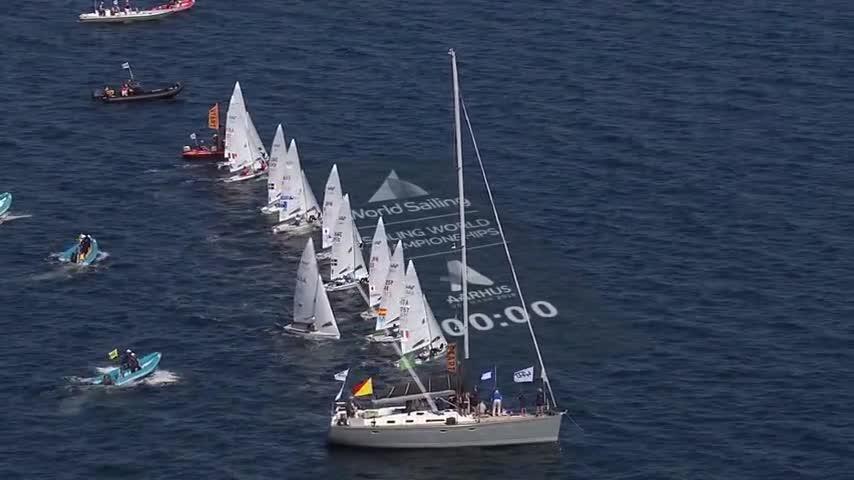 Aarhus - Images Medal Race 470M  (images brutes presse)