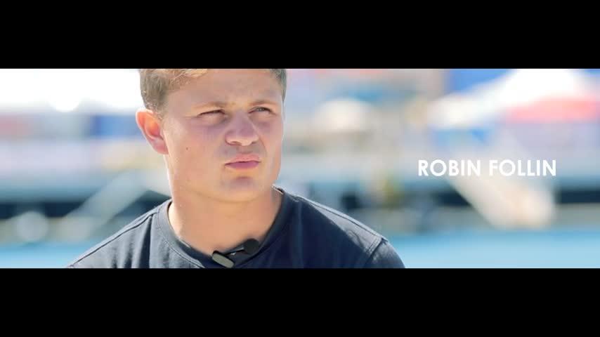 Robin Follin à la RBYAC