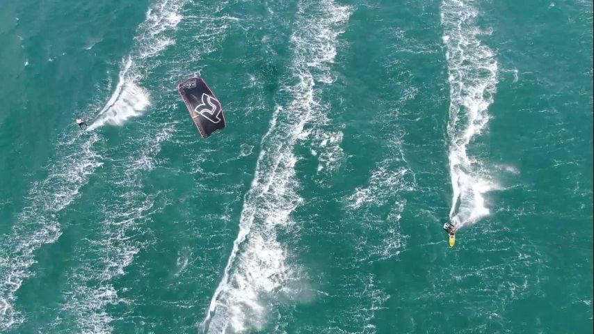 Bout à Bout Presse - ENGIE Kite Tour 2020 - La Grande Motte - Jour 1