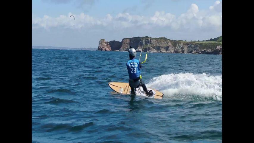 Bout à bout Presse Engie Kite Tour Hendaye
