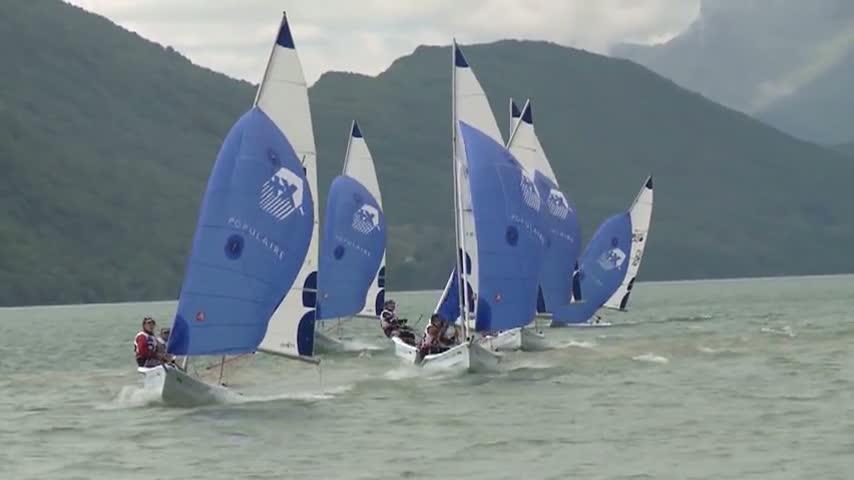 Ca souffle a Aix les Bains, les Vago surfent...