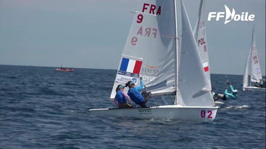 Camille Lecointre et Aloise Retornaz, Championnes d'Europe en 470 !