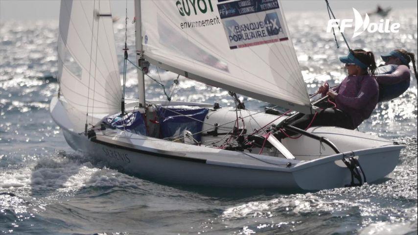 Camille Lecointre et Aloïse Retornaz en bronze au Championnat du Monde de 470 !